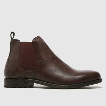 schuh Brown Nixon Chelsea Boot Mens Boots