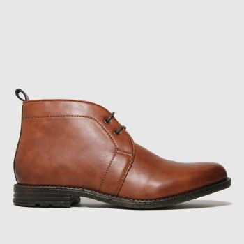 schuh Brown Nate Chukka Mens Boots