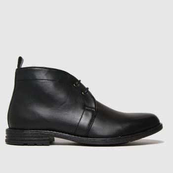 schuh Black Nate Chukka Boots
