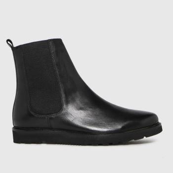 schuh Schwarz Dean Leather Chunky Chelsea Herren Boots