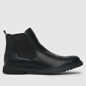 schuh Black Cory Chelsea Boot Mens Boots