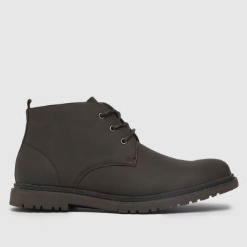 schuh Brown Guy Chukka Mens Boots
