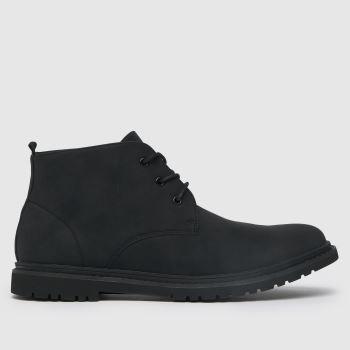 schuh Black Guy Chukka Mens Boots
