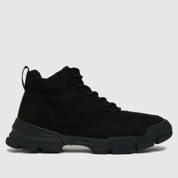 schuh Black Caleb Hiker Boot Mens Boots