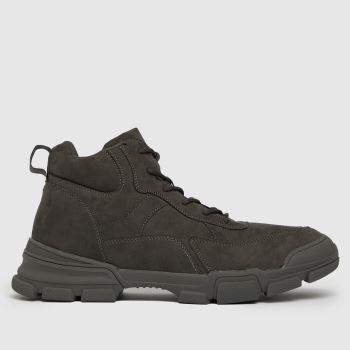 schuh Grey Caleb Hiker Boot Mens Boots