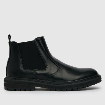 schuh Black Damon Chelsea Boot Mens Boots