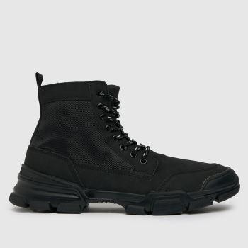 schuh Black Cooper Tech Sole Mens Boots