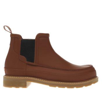 018549cdb4b mens tan hunter original moc toe chelsea boots | schuh