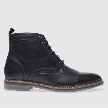 Base London Black Hockney Mens Boots