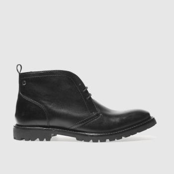 Base London Black Trojan Mens Boots