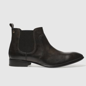 Base London Dark Brown RENDELL Boots