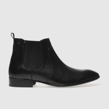 Base London Black Rendell Mens Boots