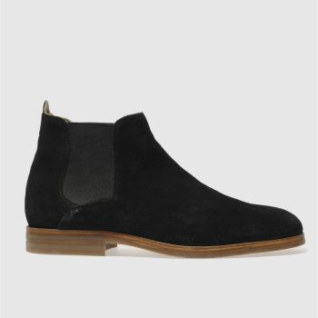 H By Hudson Black Tonti Mens Boots