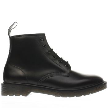 Dr Martens Black 101 Brando 6 Eye Mens Boots