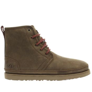 UGG TAN HARKLEY WATERPROOF BOOTS
