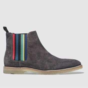 Paul Smith Shoe Ps Grey Andy Mens Boots
