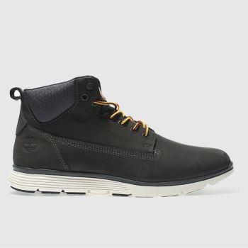 Timberland Dark Grey Killington Chukka Mens Boots