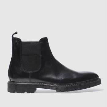 Red Or Dead Black Mr Callahan Chelsea Mens Boots