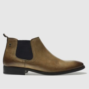 Base London Tan Ramson Mens Boots