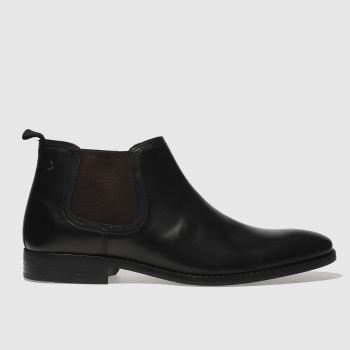 Base London Schwarz Ramson Herren Boots
