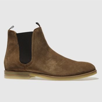 H By Hudson Tan Adlington Mens Boots