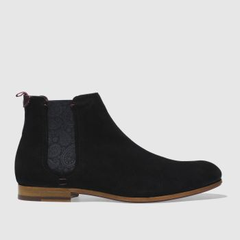 Ted Baker Black Saldor Mens Boots