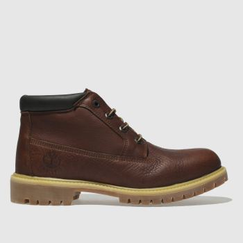 Timberland Brown Premium Chukka Ltd Mens Boots