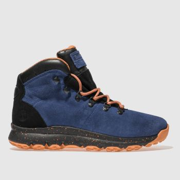 Timberland Blue World Hiker Mid Mens Boots