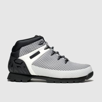 Timberland White & Black Euro Sprint c2namevalue::Mens Boots