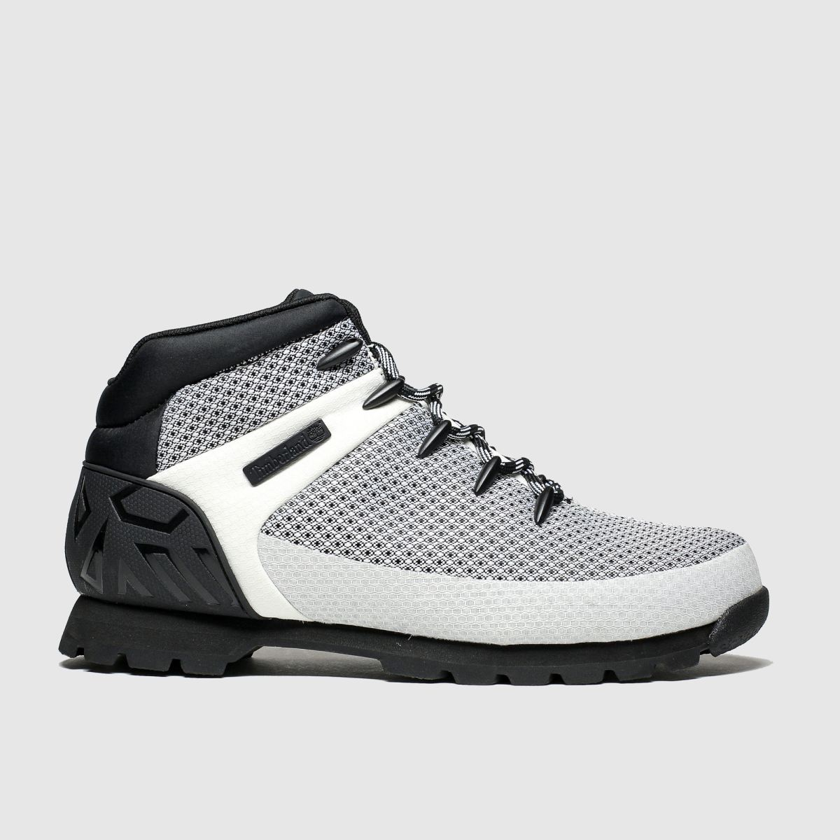 Timberland White & Black Euro Sprint Boots