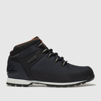 Timberland Navy Euro Sprint Waterproof Mens Boots