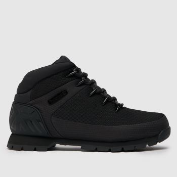 Timberland Black Euro Sprint c2namevalue::Mens Boots