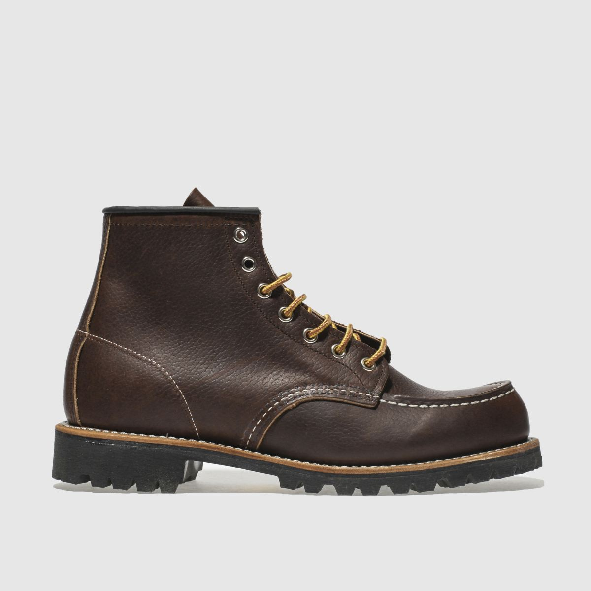 Red Wing Red Wing Dark Brown 6-inch Classic Moc Boots