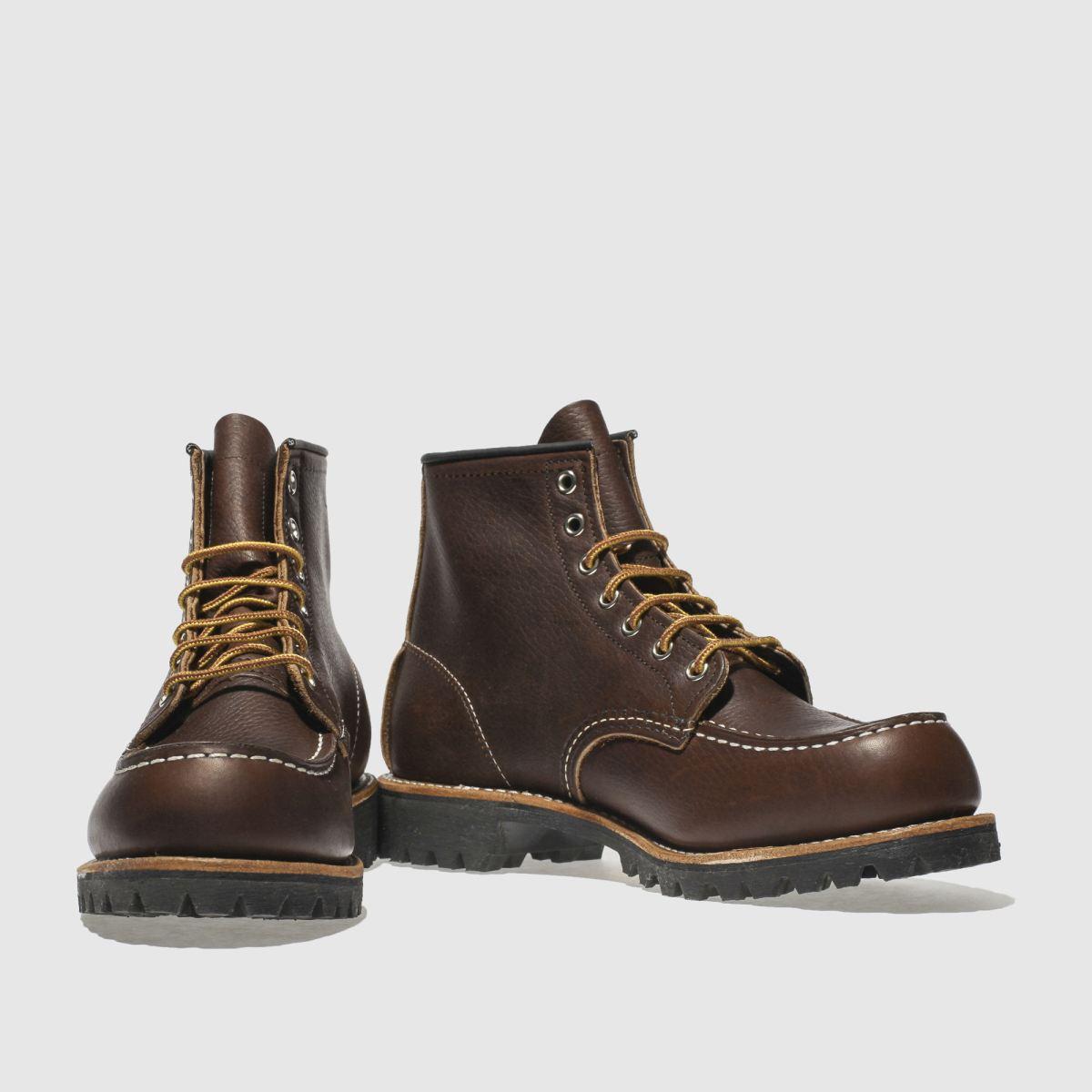 Herren Dunkelbraun red wing 6 Inch Roughneck Boots | schuh Gute Qualität beliebte Schuhe