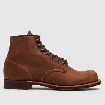 Red Wing Brown Blacksmith Mens Boots