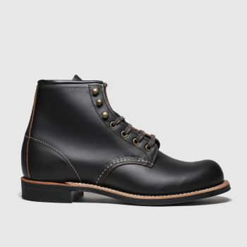 Red Wing Black Blacksmith Mens Boots