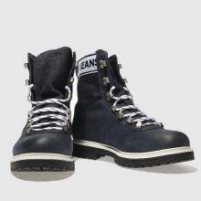 Tommy Hilfiger tj canvas suede boot 1