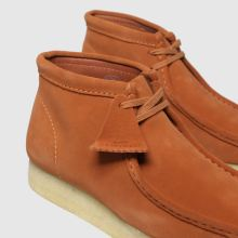 top brands half price wholesale dealer clarks originals orange wallabee boots