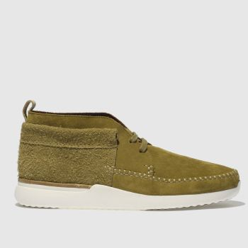 Clarks Originals Tan Tor Track Mid Mens Boots