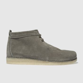 Clarks Originals Grey Ashton Boot Mens Boots