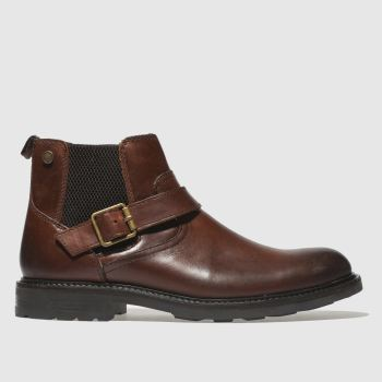 Base London Brown Morrow Mens Boots