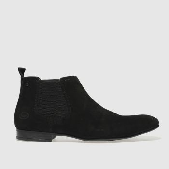 Base London Black Croft Mens Boots