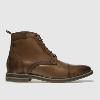 Base London Tan Hockney 2 Mens Boots
