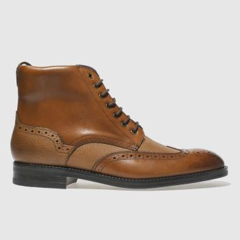 Ted Baker Tan Twrens Mens Boots