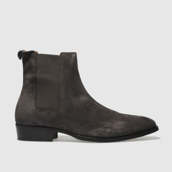 Schuh Grey Pete Chelsea Mens Boots