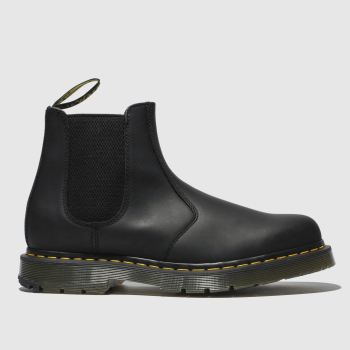 Dr Martens Black 2976 Chelsea Wintergrip Mens Boots#