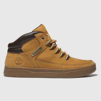 Timberland Tan Davis Square Hiker Mens Boots from Schuh