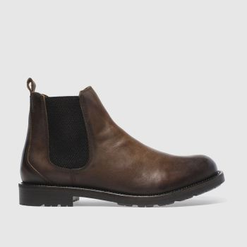 Schuh Brown Fletcher Chelsea Mens Boots