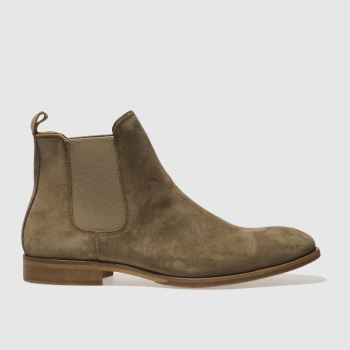 Schuh Light Brown  Khan Chelsea Mens Boots