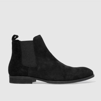 schuh Schwarz Khan Chelsea Herren Boots